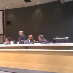 Sen. Bradley & Braynon in animated conversation. Charlotte web is…