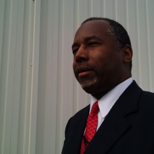Dr. Ben Carson talking to me, Jeremy Wallace & a…