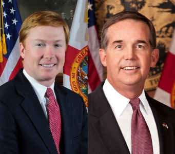 Jeff Atwater has spent $2.5 mil on campaign, Adam Putnam close to $2.3 mil