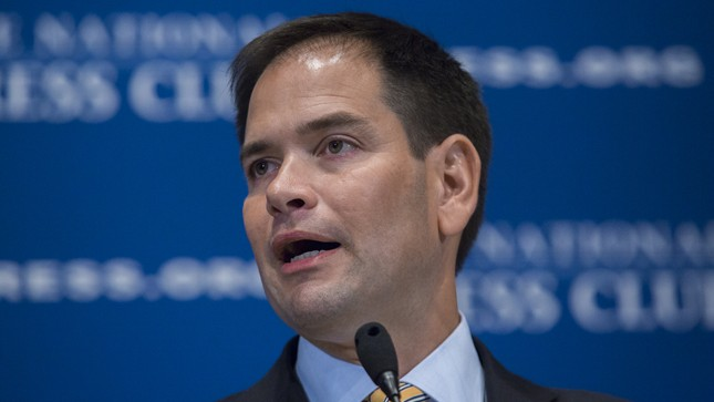 Marco Rubio discusses immigration in New Hampshire stop