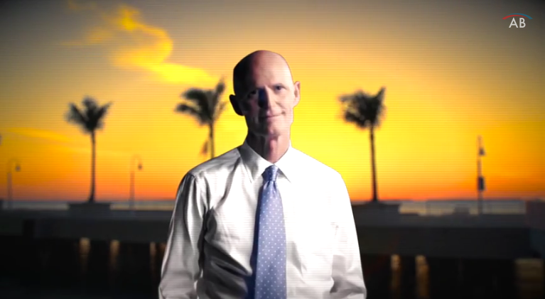 Analyzing the latest poll from Optimus showing Rick Scott up one point
