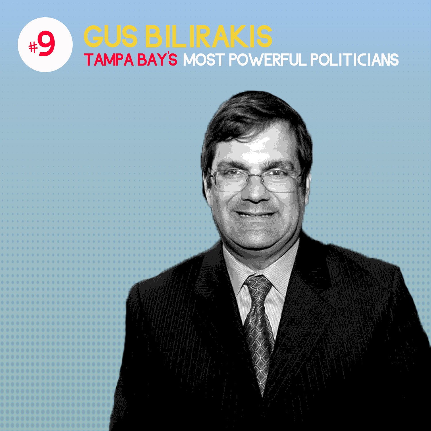 #9 on list of Tampa Bay's Most Powerful Politicians – Gus Bilirakis