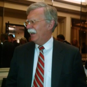 Former UN Ambassador John Bolton seen shaking hands at #FITN…