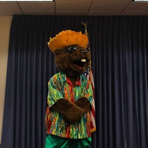 Bellamy the Beaver is attending press conferences in Tallahassee. He's…