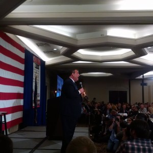 Chris Christie owning the stage at the GOP forum in…