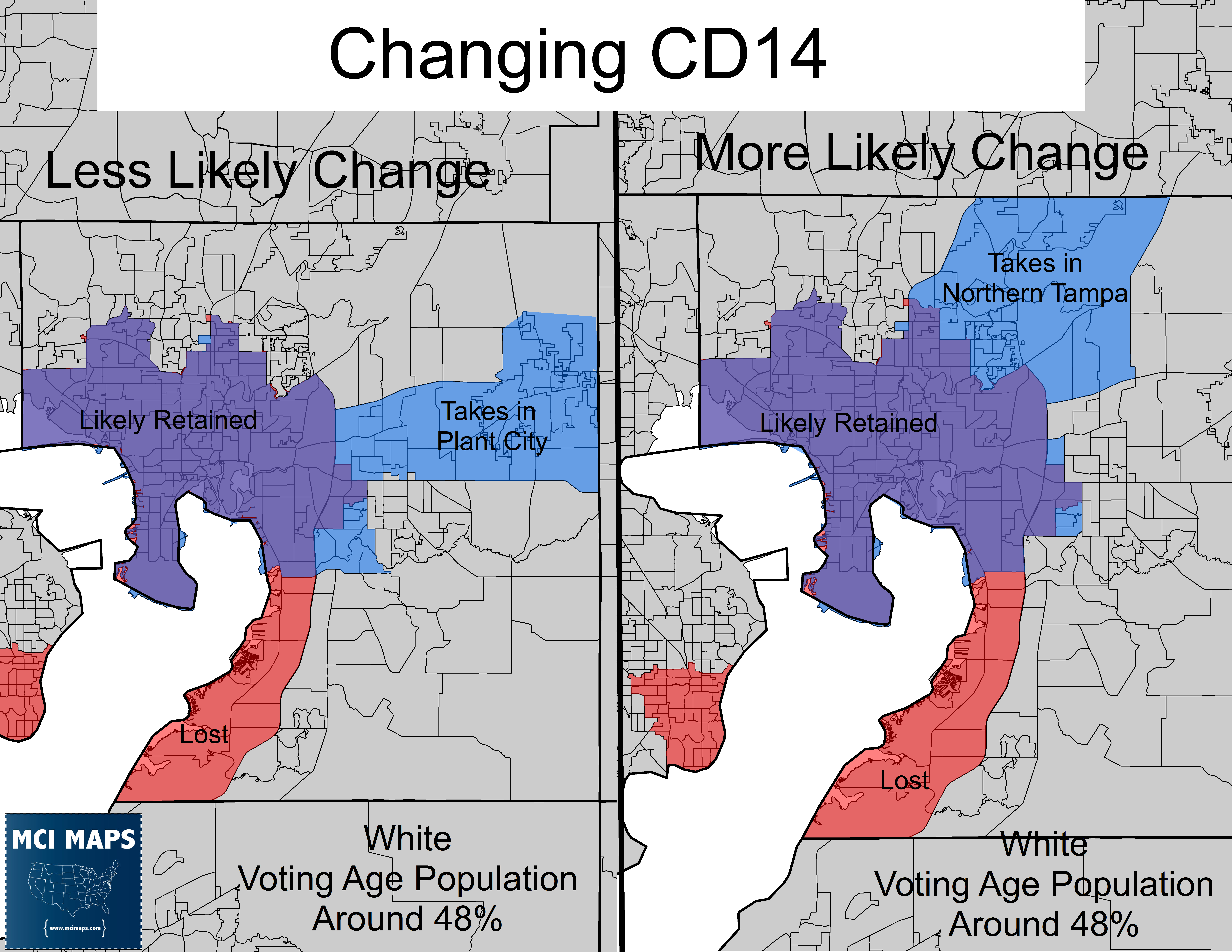 Picture of: Maps Detail Possible Changes To Comply With Court S Redistricting Decision