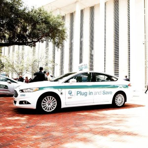 Its Drive Electric Florida Day at the Florida State Capitol
