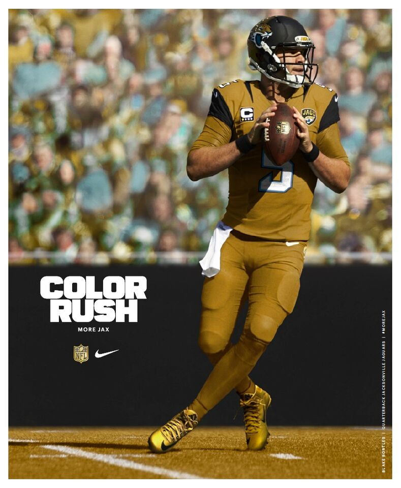 nfl gold rush jerseys