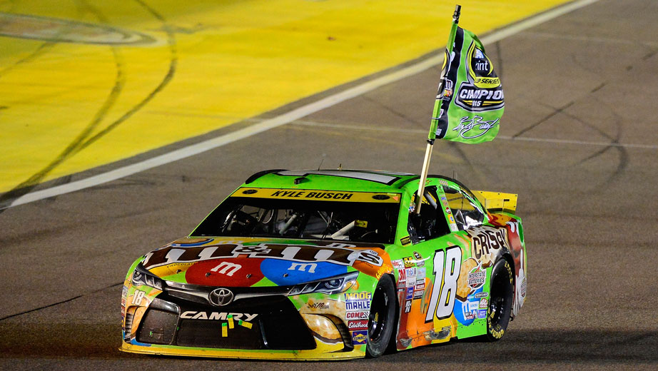 Kyle busch wins for the third time in 2016 saintpetersblog - Pictures of kyle busch s car ...