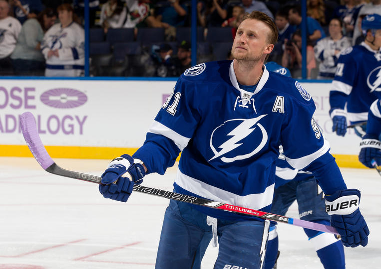 Lightning's Steven Stamkos might not play the rest of the ...