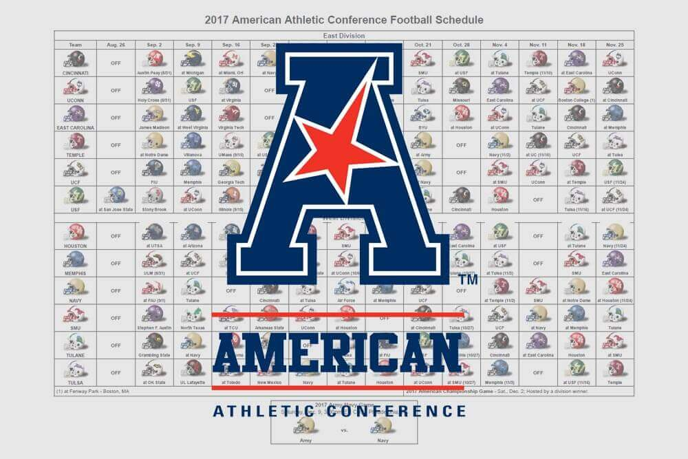 American-athletic-conference-schedule